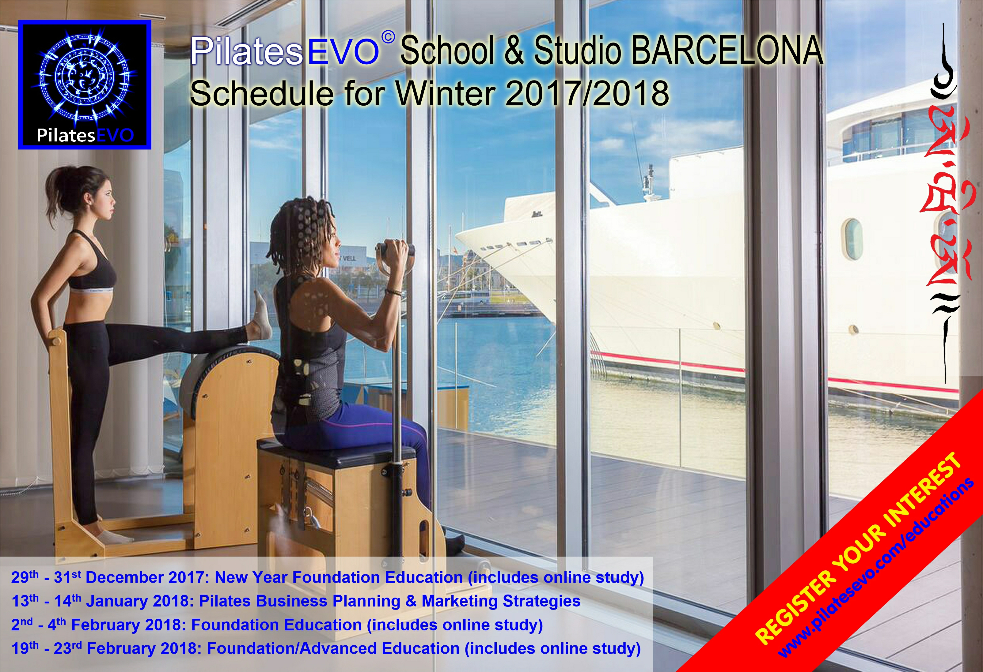 PilatesEVO Barcelona Winter 2017 & 2018