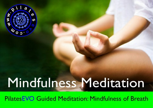 PilatesEVO Guided Meditation Breath