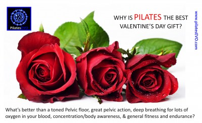 Pilates is the best Valentine Day Present